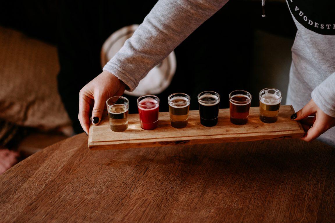 kyläpanimon olutta