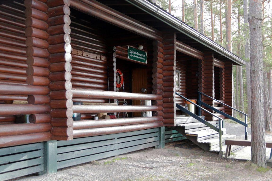 Punaportti, kokoustila, juhlatila, erillinen sauna