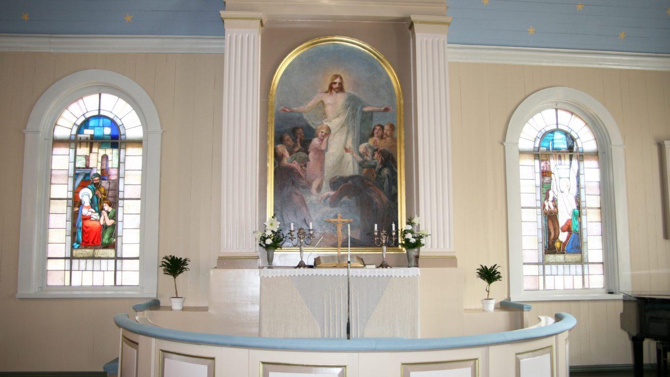 Muurlan kirkon alttari