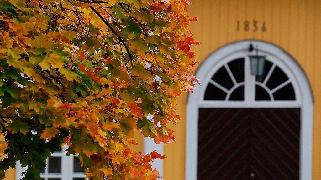 Muurlan kirkon ovi