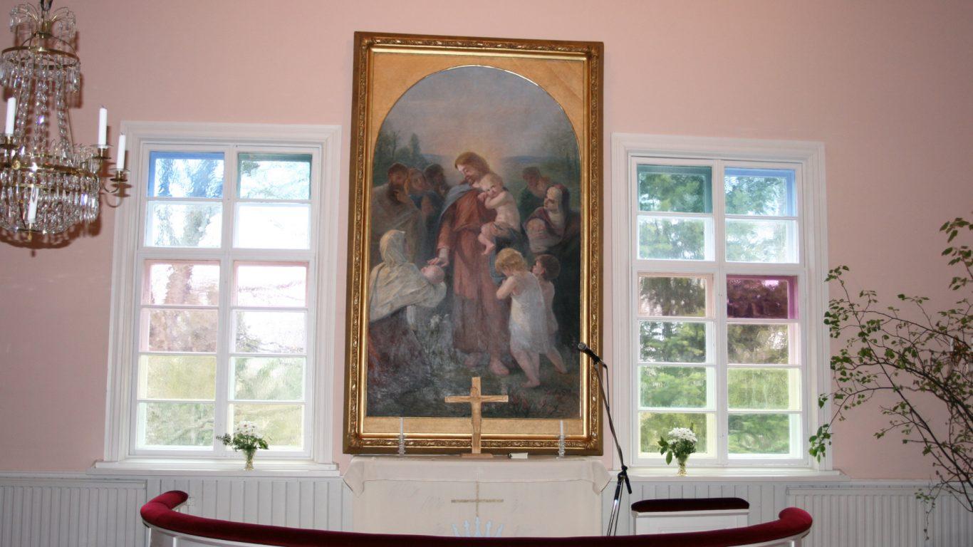 Särkisalon kirkon alttari