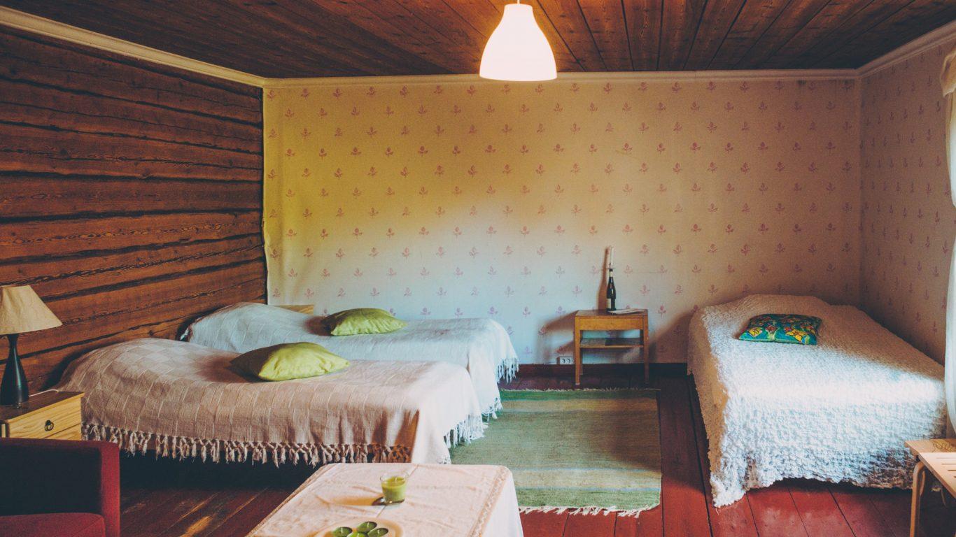 B&B Sypressi, neljän hengen huone