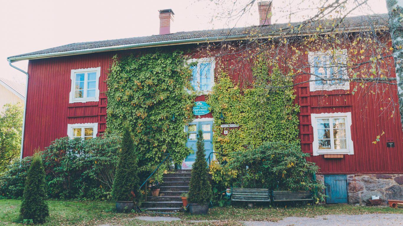 B&B Sypressi Mathildedalin ruukkikylässä