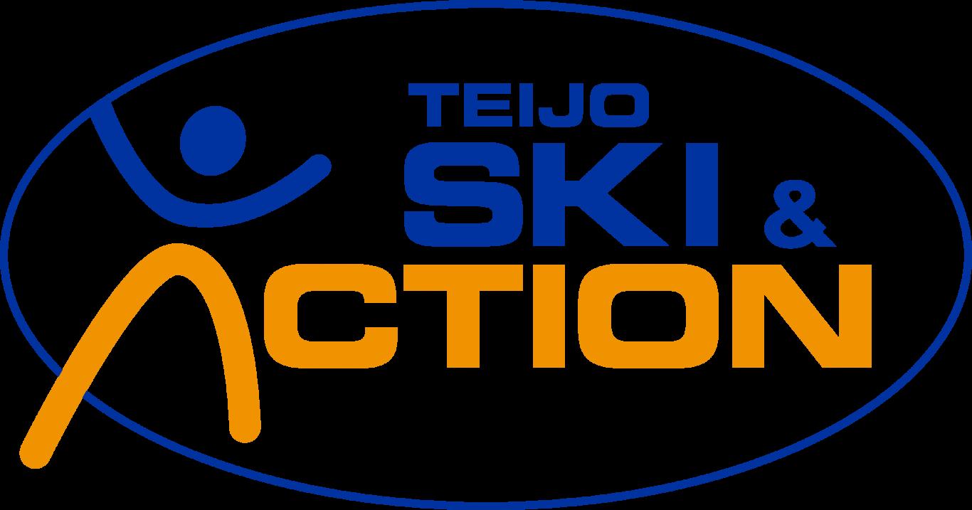 Teijo Ski & Action Parkin sini-oranssi logo