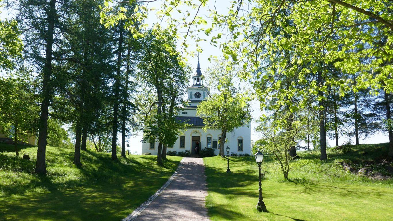 Teijon kirkko Teijon ruukkikylässä