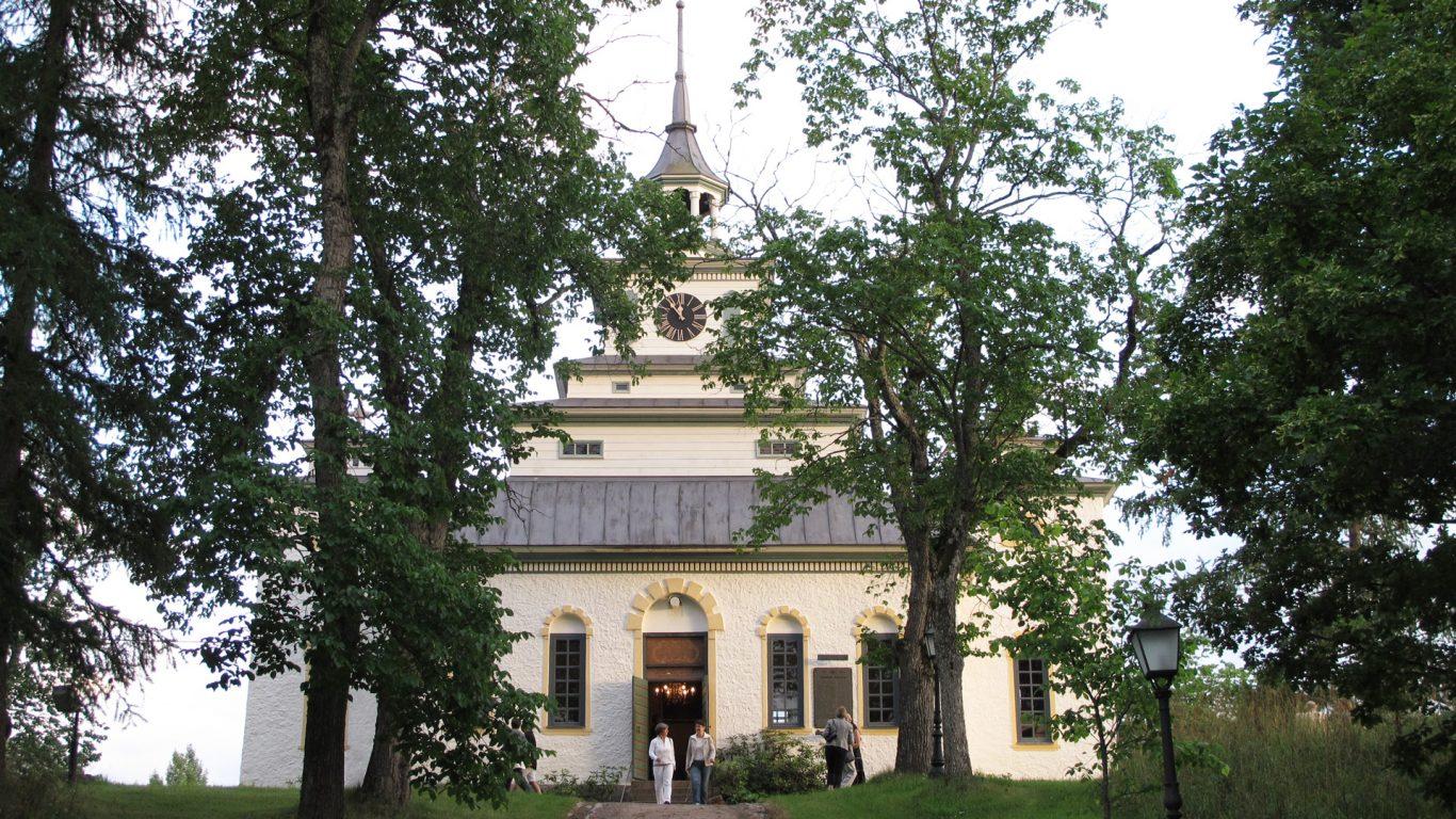 Teijon kirkko, Suomen pienin kivikirkko