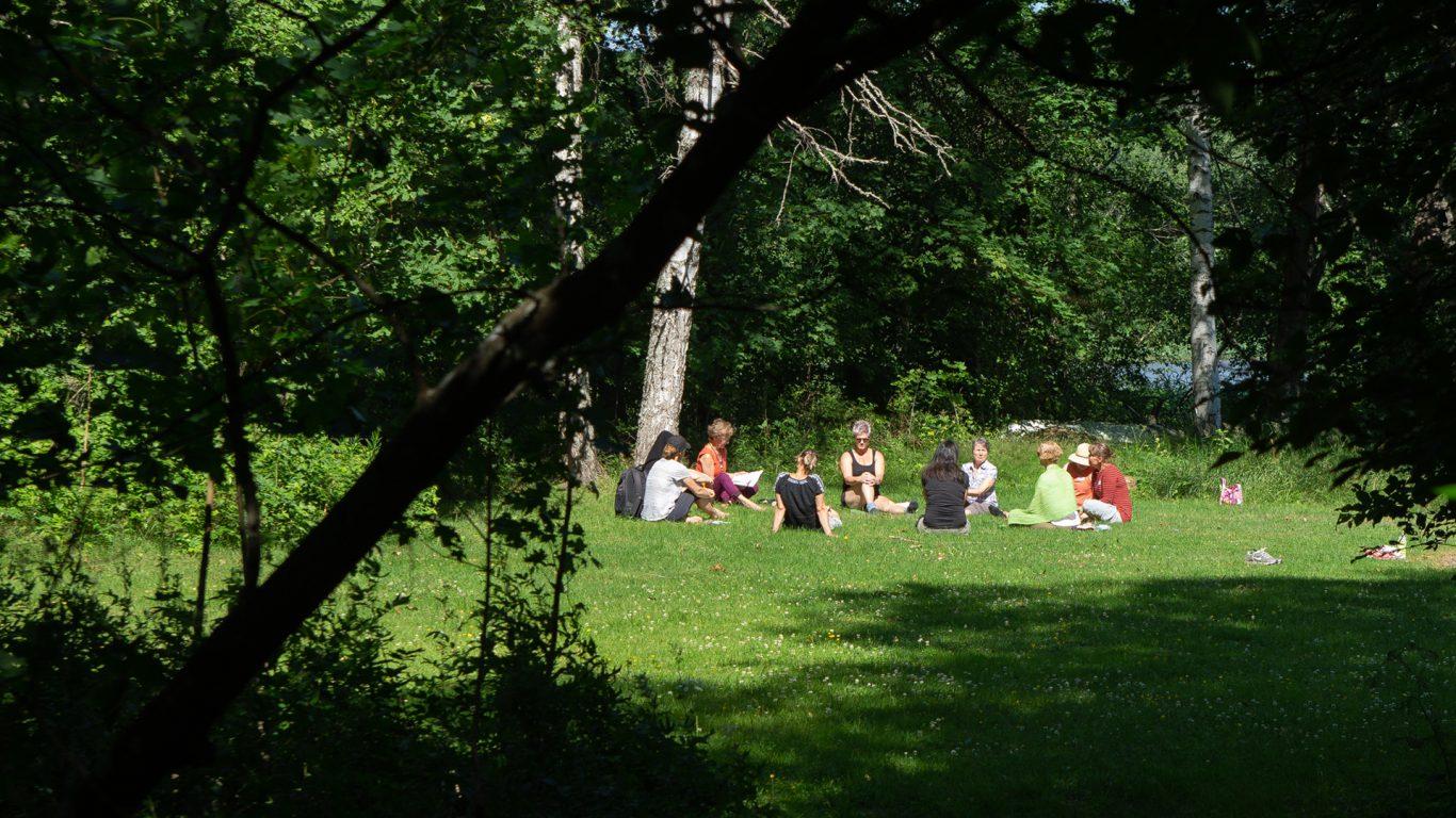 Muurlan Opiston kaunis miljöö tarjoaa puitteet moneen toimintaan.