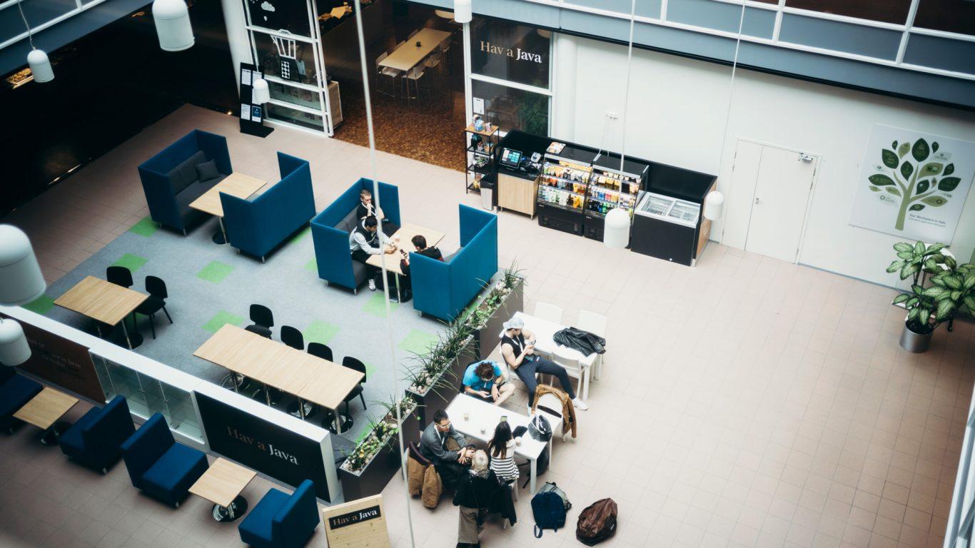 Salo IoT Campuksen kahvila