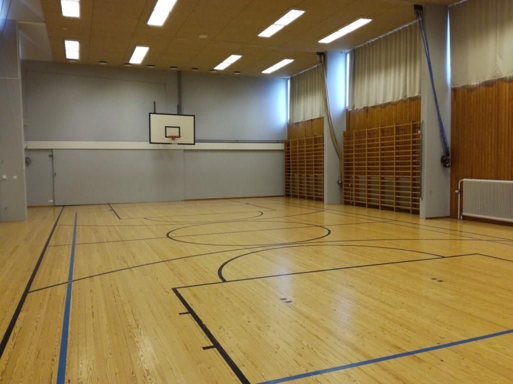 Marian koulun liikuntasalista kuva