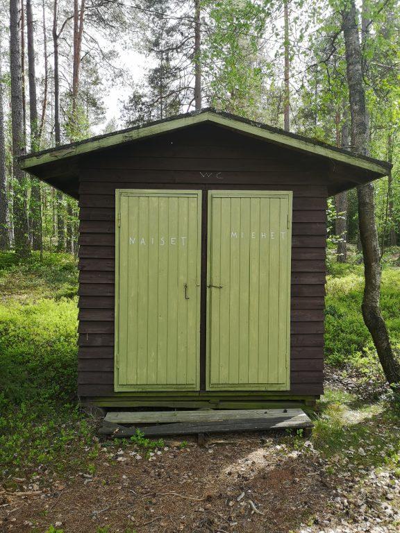 Uimapaikan wc-koppi