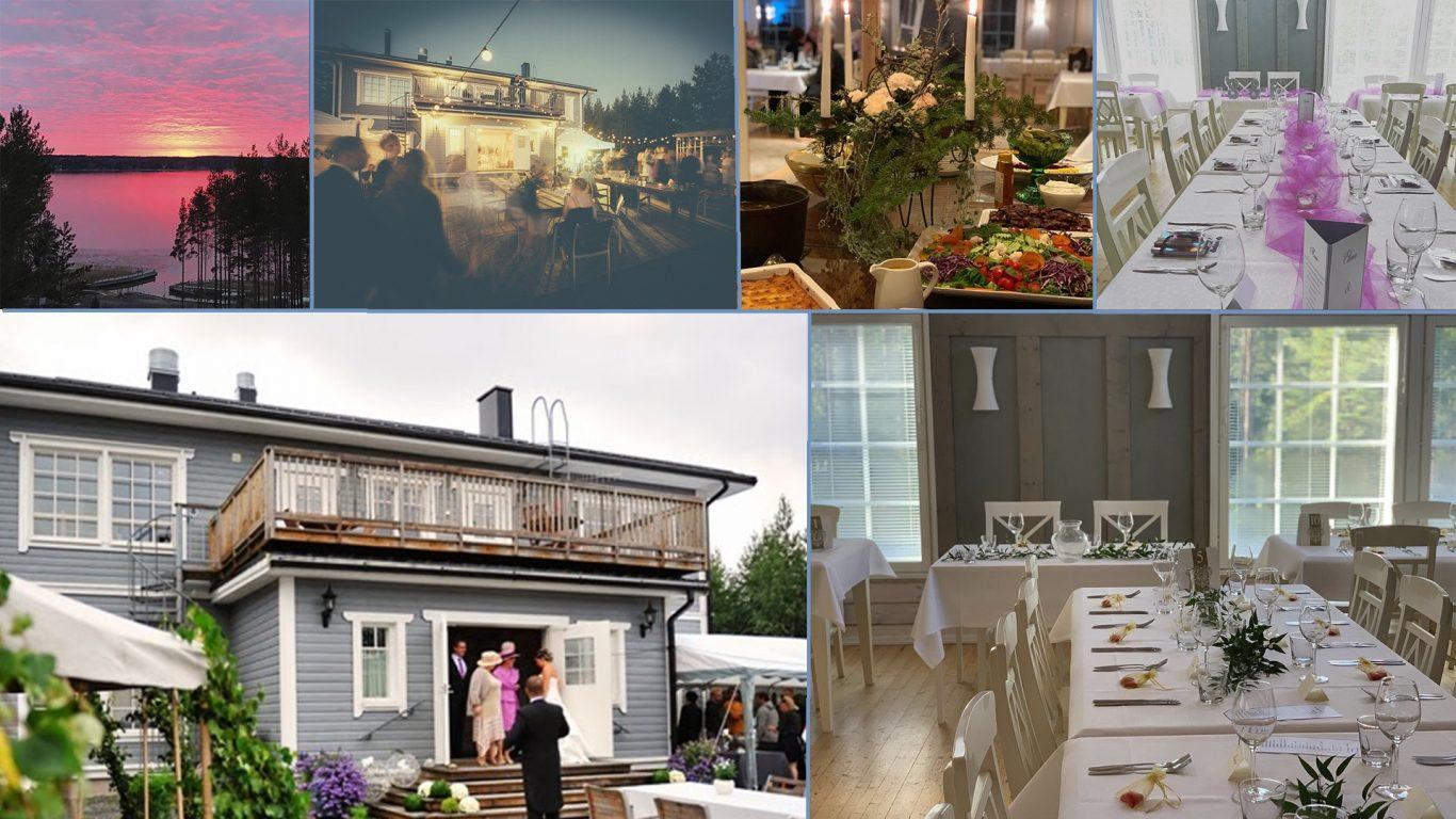 Ylöstalon Villa Meri on upea paikka järjestää häitä ja muita juhlatilaisuuksia - www.ylostalo.fi