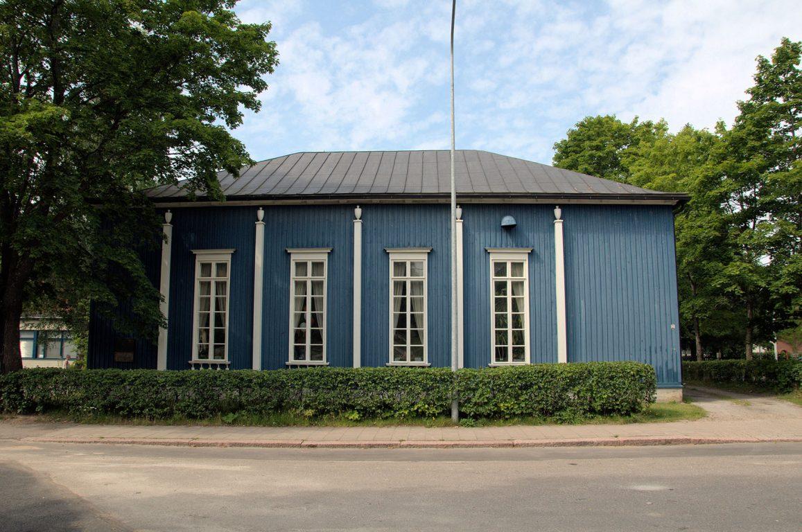 Suojeluskuntatalo - Sininen talo